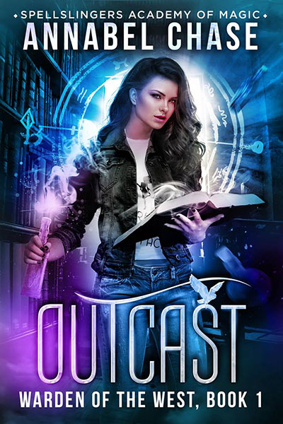 Outcast - urban fantasy by Annabel Chase