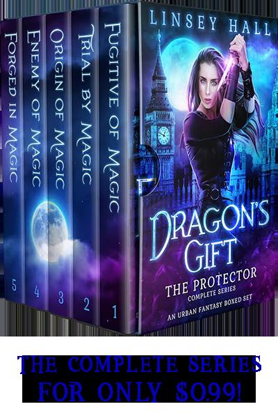 Dragon's Gift: Protectors Box Set - urban fantasy by Linsey Hall